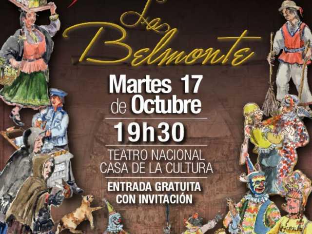 """""""La Belmonte"""" una remembranza de la vida social de Quito"""